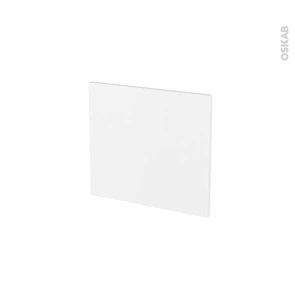 Façades de cuisine - Face tiroir N°9 - GINKO Blanc - L40 x H35 cm