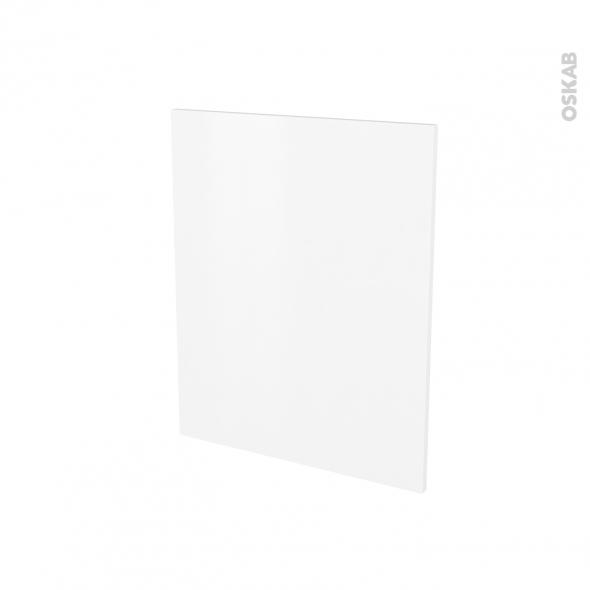 Finition cuisine - Joue N°29 - GINKO Blanc - Avec sachet de fixation - L58 x H70 x Ep.1.6 cm