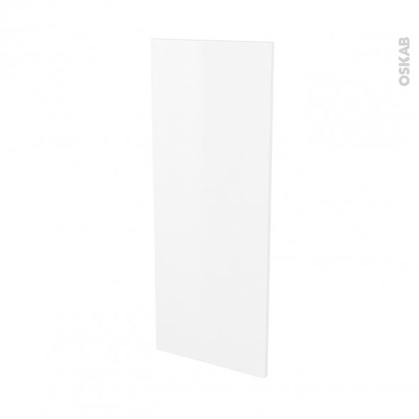 Finition cuisine - Joue N°32 - GINKO Blanc - Avec sachet de fixation - L37 x H92 x Ep.1.6 cm