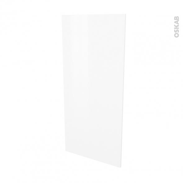 GINKO Blanc - Rénovation 18 - joue N°80 - Avec sachet de fixation - L60 x H125 Ep.1.2 cm