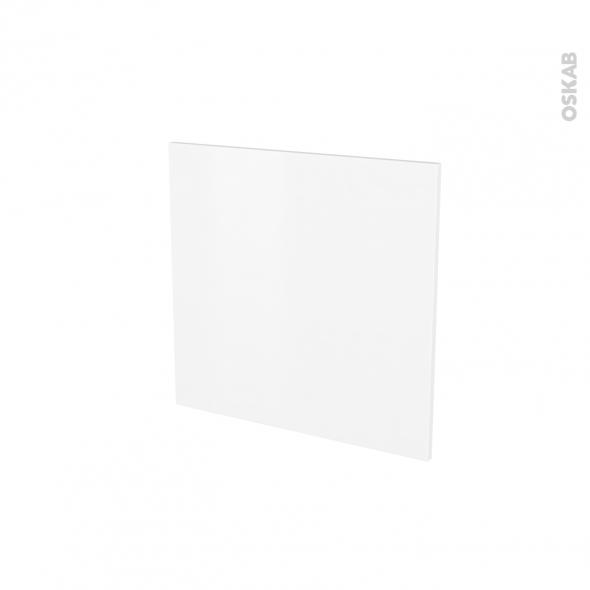 Porte lave vaiselle - Intégrable N°16 - GINKO Blanc - L60 x H57 cm