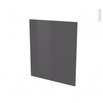 Porte lave vaisselle - Full intégrable N°21 - GINKO Gris - L60 x H70 cm