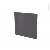 Porte lave vaisselle - Intégrable N°16 - GINKO Gris - L60 x H57 cm