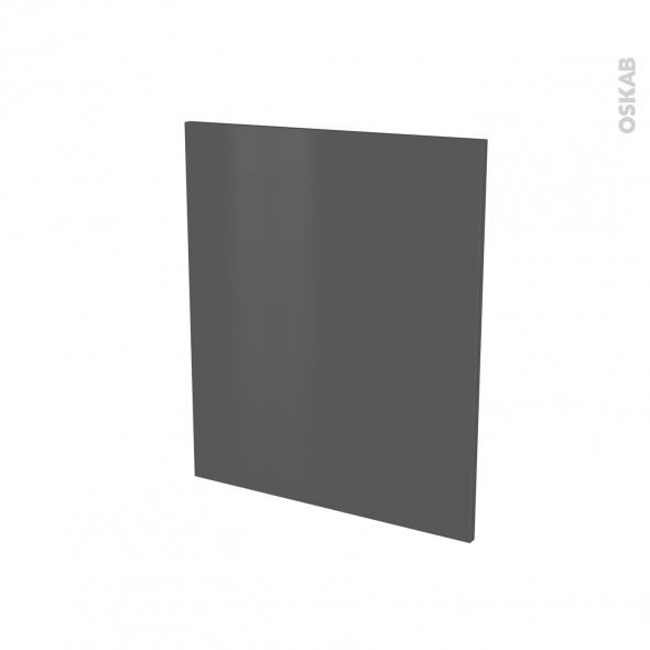 Porte lave vaiselle - Full intégrable N°21 - GINKO Gris - L60 x H70 cm