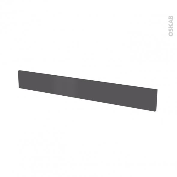Façades de cuisine - Face tiroir N°43 - GINKO Gris - L100 x H13 cm