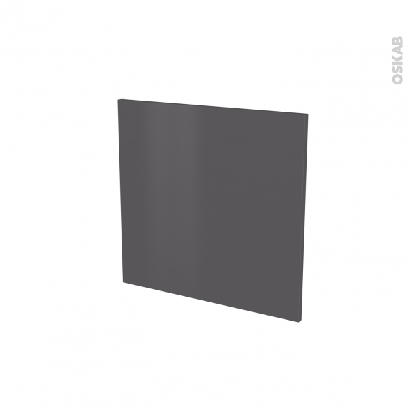 GINKO Gris - Porte N°16 - Lave vaisselle intégrable - L60xH57