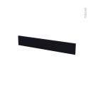 Façades de cuisine - Face tiroir N°42 - GINKO Noir - L80 x H13 cm