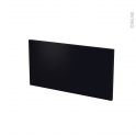 Façades de cuisine - Face tiroir N°8 - GINKO Noir - L60 x H31 cm