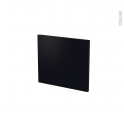 Façades de cuisine - Face tiroir N°9 - GINKO Noir - L40 x H35 cm