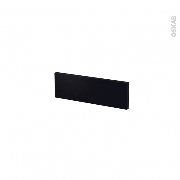 Façades de cuisine - Face tiroir N°1 - GINKO Noir - L40 x H13 cm