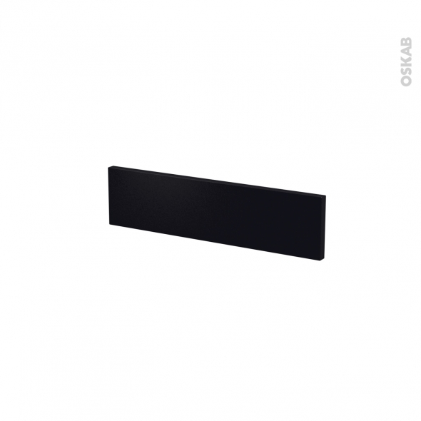 Façades de cuisine - Face tiroir N°2 - GINKO Noir - L50 x H13 cm
