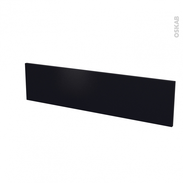 Façades de cuisine - Face tiroir N°41 - GINKO Noir - L100 x H25 cm