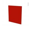 GINKO Rouge - porte N°21 - L60xH70