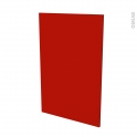GINKO Rouge - porte N°24 - L60xH92