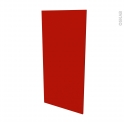 GINKO Rouge - porte N°27 - L60xH125