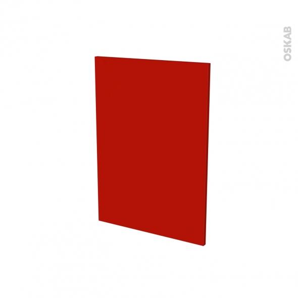 GINKO Rouge - façade N°57 2 tiroirs - L60xH70