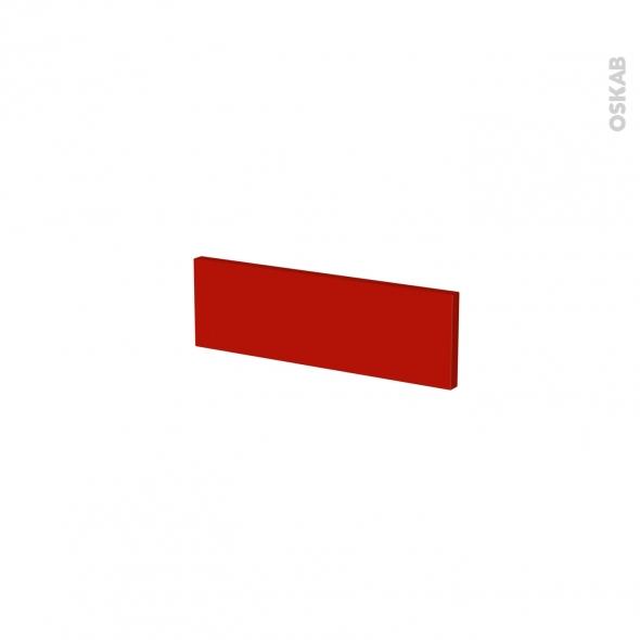 GINKO Rouge - face tiroir N°1 - L40xH13
