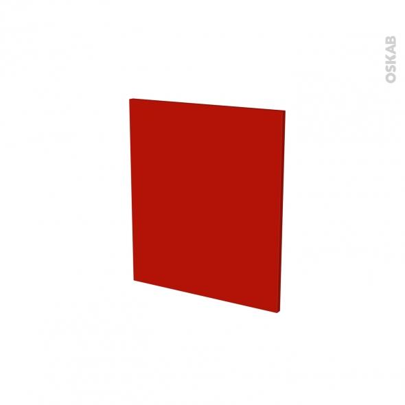GINKO Rouge - porte N°15 - L50xH57