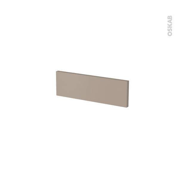 Façade de cuisine - Face tiroir N°1 - GINKO Taupe - L40 x H13 cm