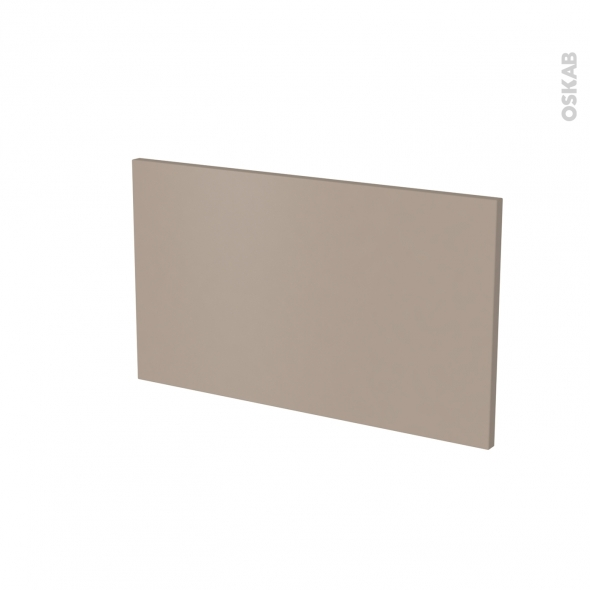 Façade de cuisine - Face tiroir N°10 - GINKO Taupe - L60 x H35 cm