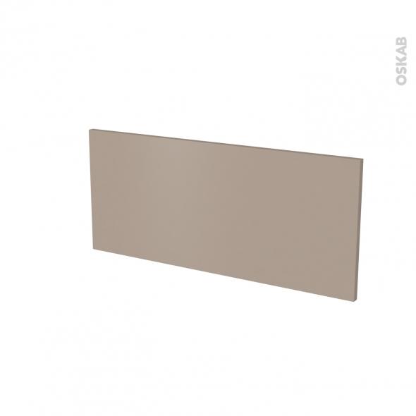 Façade de cuisine - Face tiroir N°11 - GINKO Taupe - L80 x H35 cm