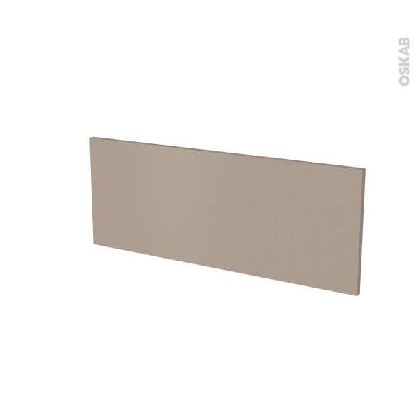 Façade de cuisine - Face tiroir N°38 - GINKO Taupe - L80 x H31 cm
