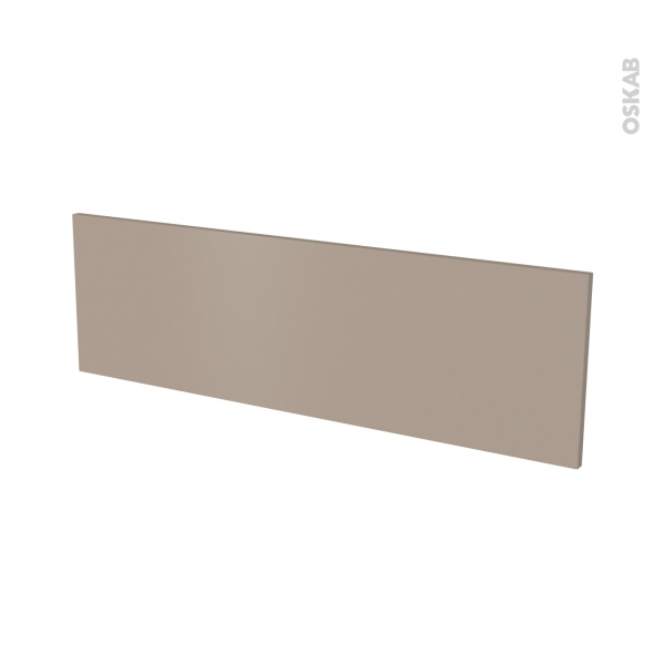 Façade de cuisine - Face tiroir N°40 - GINKO Taupe - L100 x H31 cm