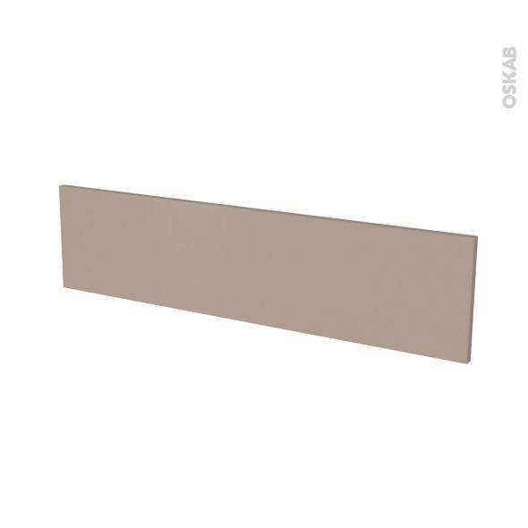Façade de cuisine - Face tiroir N°41 - GINKO Taupe - L100 x H25 cm