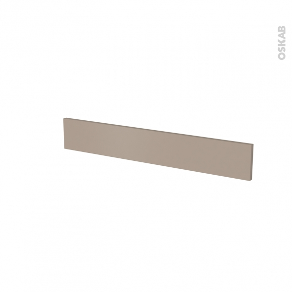 Façade de cuisine - Face tiroir N°42 - GINKO Taupe - L80 x H13 cm