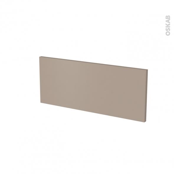 Façade de cuisine - Face tiroir N°5 - GINKO Taupe - L60 x H25 cm