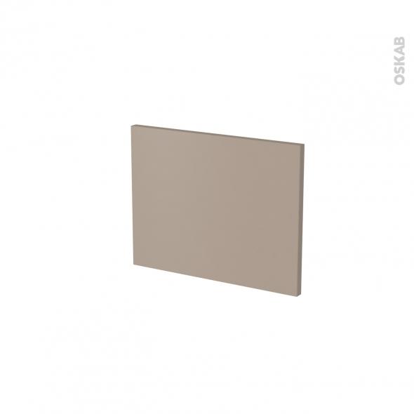 Façade de cuisine - Face tiroir N°6 - GINKO Taupe - L40 x H31 cm