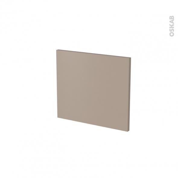 Façade de cuisine - Face tiroir N°9 - GINKO Taupe - L40 x H35 cm