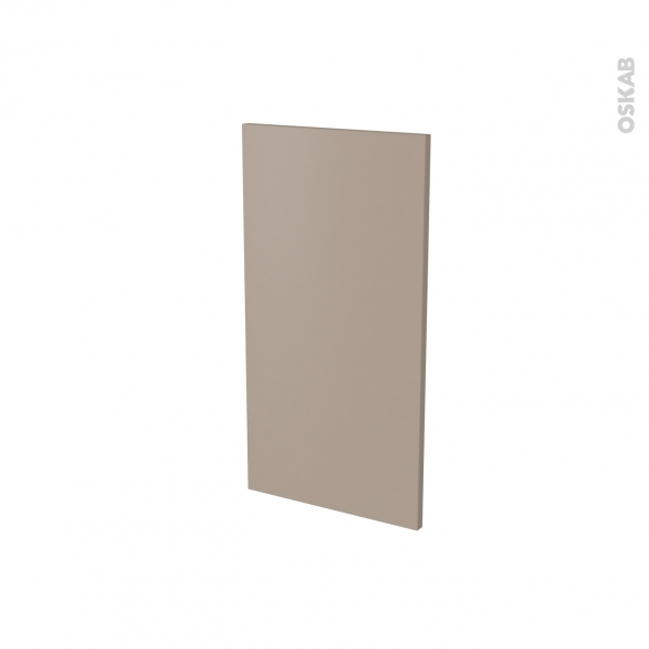 Finition cuisine - Joue N°30 - GINKO Taupe - à redécouper - Avec sachet de fixation - L37 x H41 x Ep.1.6 cm