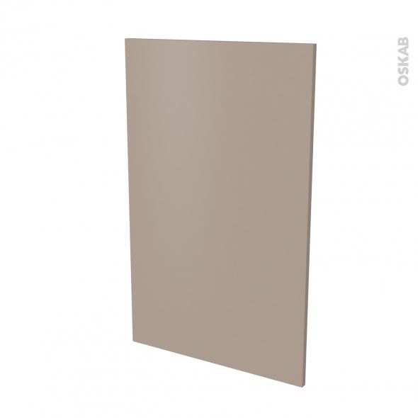 Finition cuisine - Joue N°31 - GINKO Taupe - Avec sachet de fixation - L58 x H92 x Ep.1.6 cm