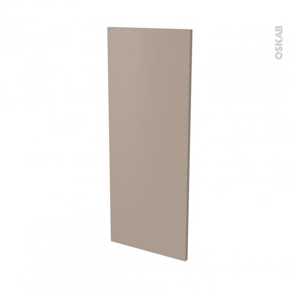 Finition cuisine - Joue N°32 - GINKO Taupe - Avec sachet de fixation - L37 x H92 x Ep.1.6 cm