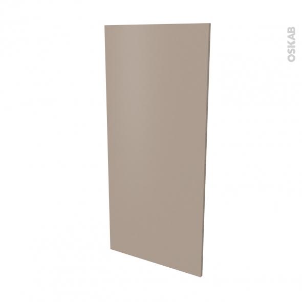 Finition cuisine - Joue N°33 - GINKO Taupe - Avec sachet de fixation - L58 x H125 x Ep.1.6 cm