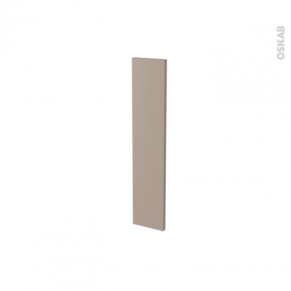 Façade de cuisine - Porte N°17 - GINKO Taupe - L15 x H70 cm