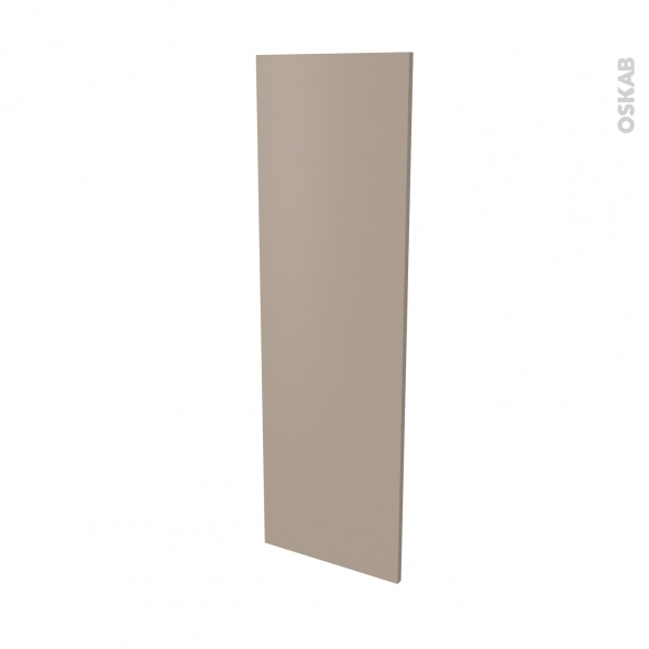 Façade de cuisine - Porte N°26 - GINKO Taupe - L40 x H125 cm