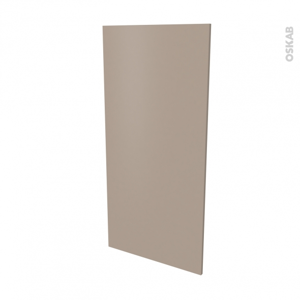 Façade de cuisine - Porte N°27 - GINKO Taupe - L60 x H125 cm