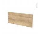 Façades de cuisine - Face tiroir N°11 - HOSTA Chêne naturel - L80 x H35 cm