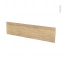 Façades de cuisine - Face tiroir N°41 - HOSTA Chêne naturel - L100 x H25 cm