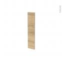 Façades de cuisine - Porte N°17 - HOSTA Chêne naturel - L15 x H70 cm