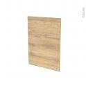 Façades de cuisine - Porte N°20 - HOSTA Chêne naturel - L50 x H70 cm