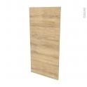 Façades de cuisine - Porte N°27 - HOSTA Chêne naturel - L60 x H125 cm
