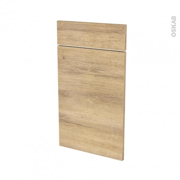 Façades de cuisine - 1 porte 1 tiroir N°51 - HOSTA Chêne naturel - L40 x H70 cm