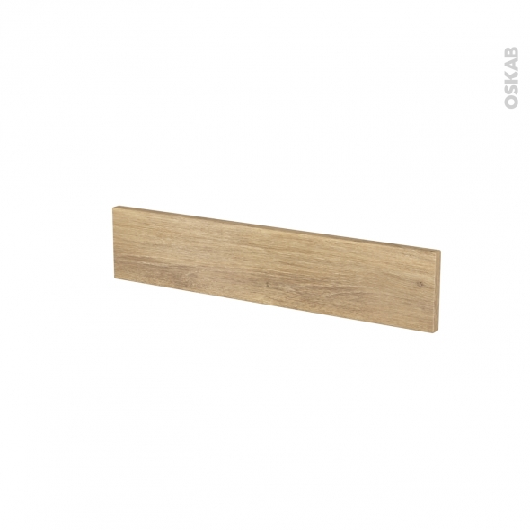 Façades de cuisine - Face tiroir N°3 - HOSTA Chêne naturel - L60 x H13 cm
