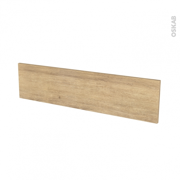 HOSTA Chêne Naturel - face tiroir N°41 - L100xH25