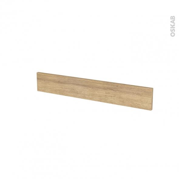 Façades de cuisine - Face tiroir N°42 - HOSTA Chêne naturel - L80 x H13 cm