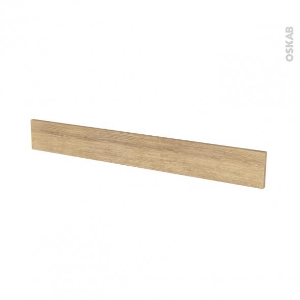 Façades de cuisine - Face tiroir N°43 - HOSTA Chêne naturel - L100 x H13 cm