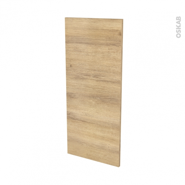 Façades de cuisine - Porte N°23 - HOSTA Chêne naturel - L40 x H92 cm
